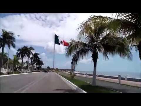 KARAOKE SON DE LA NEGRA - LA BANDERA DE MEXICO VISTA DESDE EL MALECON DE CAMPECHE
