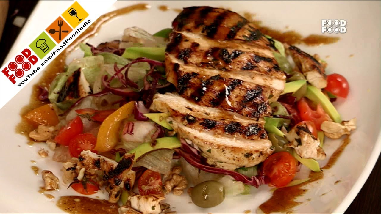 Grilled chicken salad with citrus dressing food food india fat grilled chicken salad with citrus dressing food food india fat to fit healthy recipes youtube forumfinder Image collections