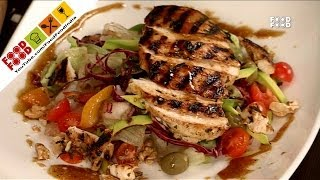 Grilled Chicken Salad With Citrus Dressing | Food Food India - Fat To Fit | Healthy Recipes