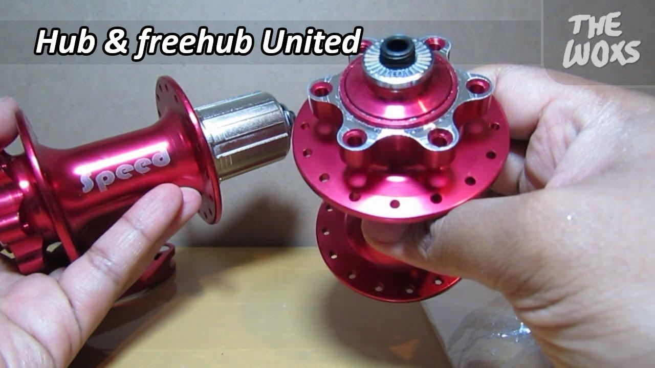 Unboxing Hub & Freehub Sepeda United Speed 32 Hole