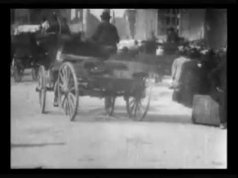 Actual film of the aftermath of the Great Earthquake in San Francisco, California in 1906