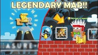 LEGENDARY MAP INFO + NEW ITEMS!! (TREASURE HUNT) OMG!! | GrowTopia