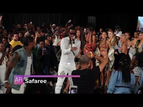 Safaree Live Performance: Hunnid, NFL, Paradise & Take Control featuring Lil Mo