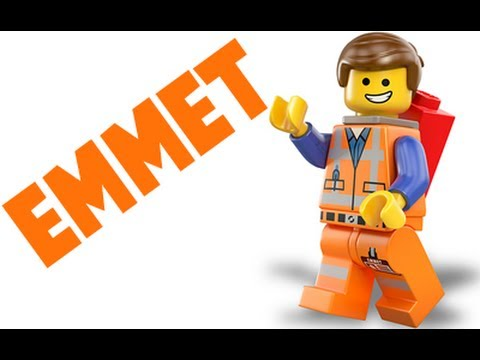 How to Draw Emmet from The Lego Movie - YouTube
