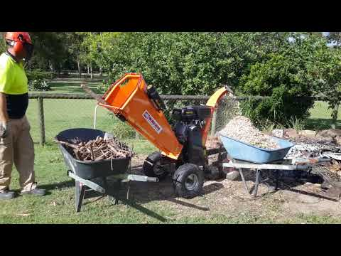Pro Wood Chipper - Easy Hire Tools - YOUR DIY SOLUTION