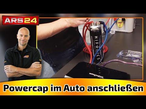 Powercap im Auto richtig anschließen | Kondensator TUTORIAL | ARS24.COM