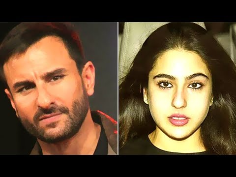 Sara Ali Khan Bollywood Debut Makes Saif Ali Khan Upset and Nervous