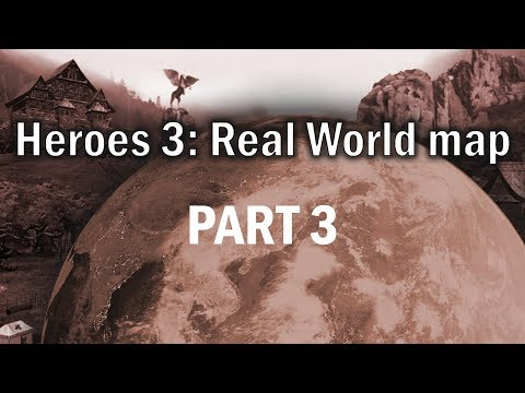 Heroes 3 - Real World Map (200%) PART THREE: Breaking into Africa