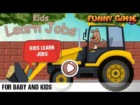 Kids learn jobs game guide #1 - Funny game top - For baby and kids