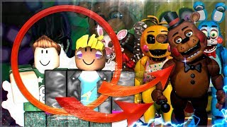 WE BECOME IN ANIMATRONICS ROBLOX FNAF with Massi