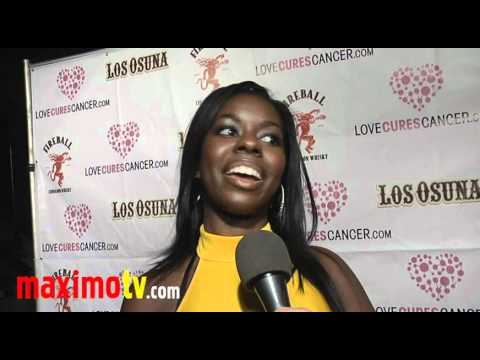 Camille Winbush Interview at Jessica Hall's Haunted Mansion Party