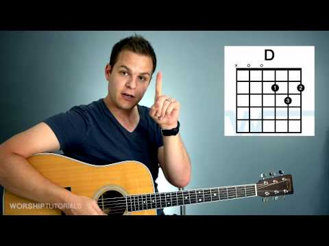 Guitar Lesson  How To Play Your First Chord