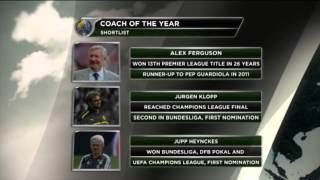 Welttrainer des Jahres: Jupp Heynckes, Jürgen Klopp oder Sir Alex Ferguson? | FIFA-Welttrainer 2013