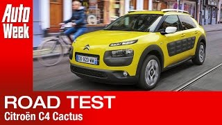 Citroën C4 Cactus road test English subtitled