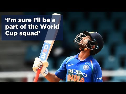 Rahane: I'm sure I'll be a part of the World Cup squad