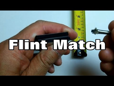 Flint Match : Eye-On-Stuff