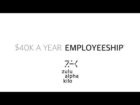 "Zulu's ""$40K A Year Employeeship"""