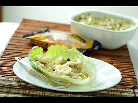 Ensalada de pasta de caracol