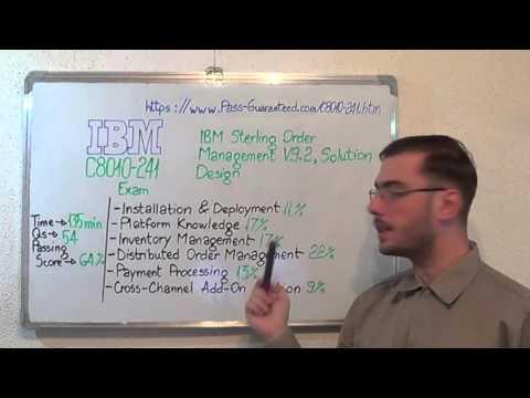 C8010-241 – IBM Sterling Exam Order Test V9.2, Solution Design Questions