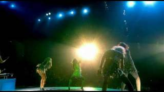 Girls Aloud - Wake Me Up & Walk This Way - HD [Tangled Up Tour DVD]
