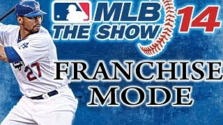 MLB THE SHOW 14 PS3: Los Angeles Dodgers vs New York Yankees - Franchise Mode Game