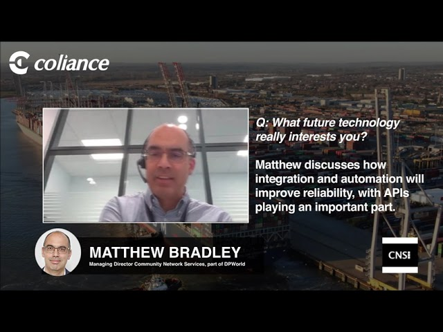 Coliance talk to CNS - What future technologies?