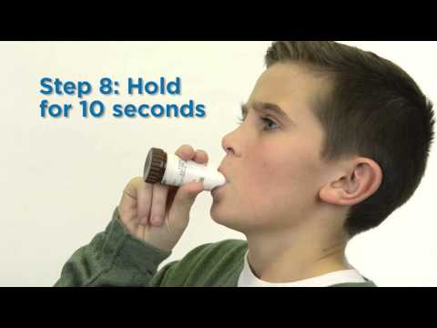 How To Use A Flexhaler Inhaler