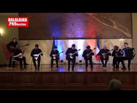 Ensemble Balalaïka concert Mairie de Paris 15e