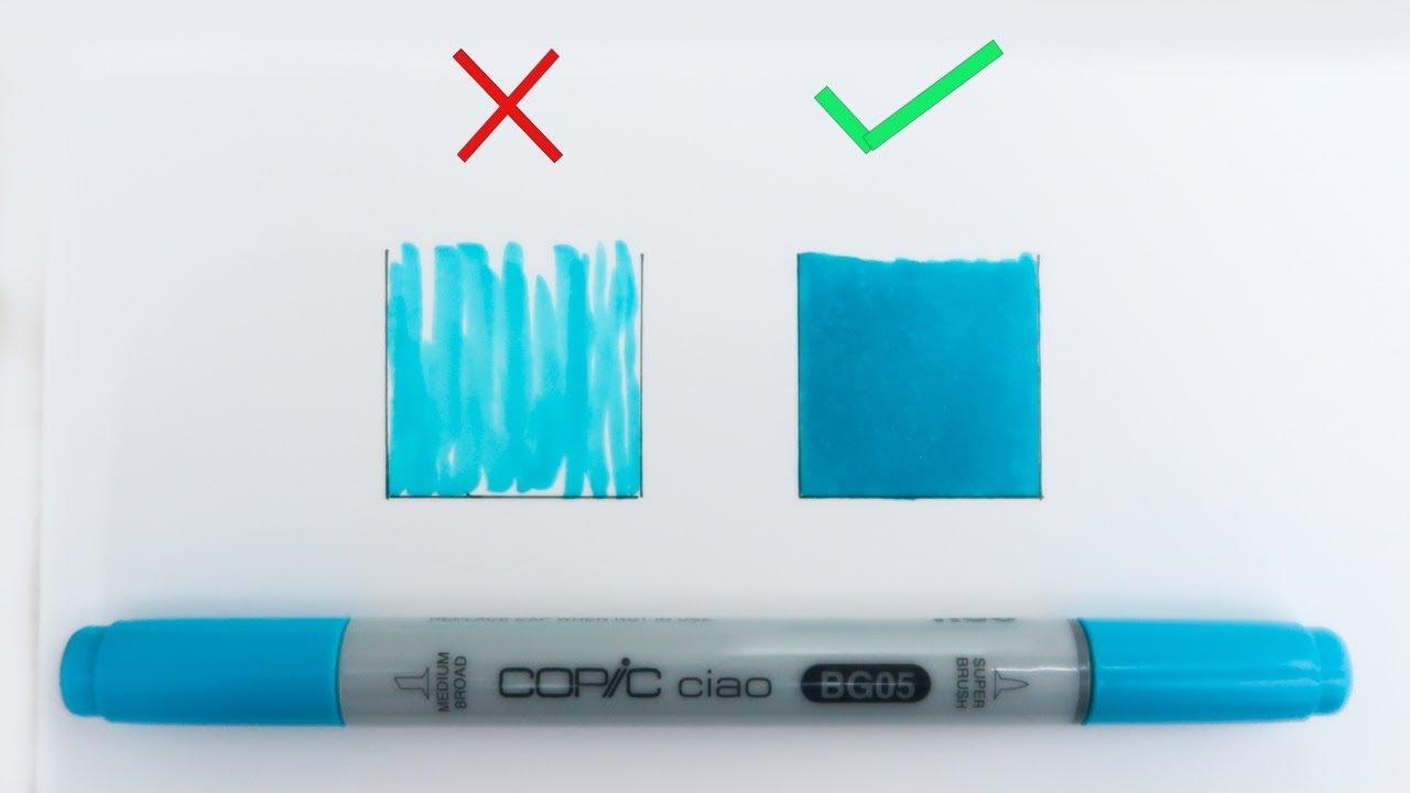 Colorier Comme Un Pro Comment Utiliser Les Feutres A Alcool
