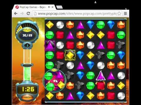 Bejeweled Twist Online Blitz Gameplay (Bad)