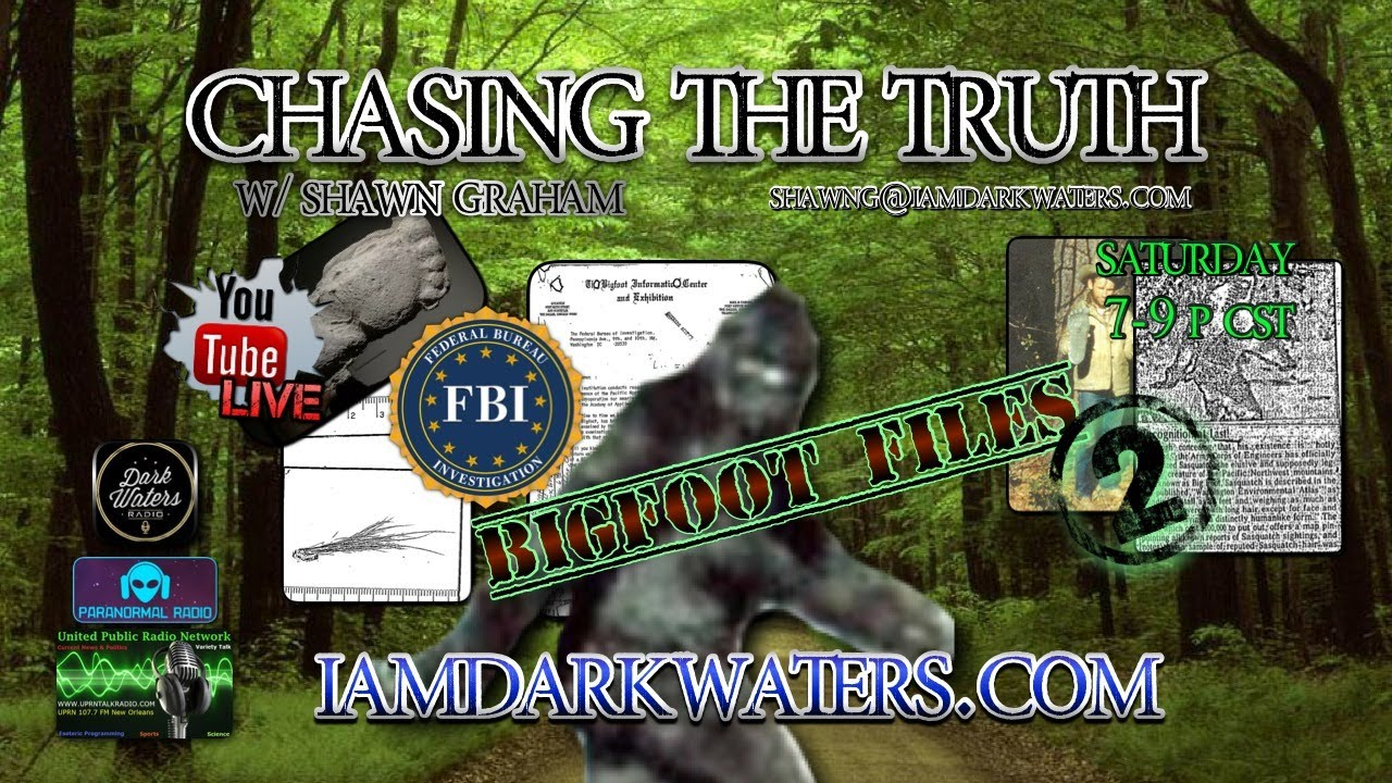 Chasing The Truth w. Shawn G. #BigfootFiles part 2