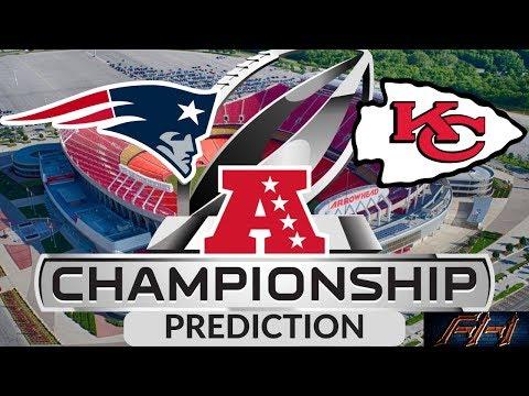 2018 - 2019 NFL Playoffs Predictions - New England Patriots vs Kansas City Chiefs