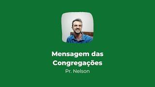 Culto online das Congregações | Mensagem 27/09/2020