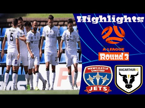 Newcastle Jets Macarthur FC Goals And Highlights