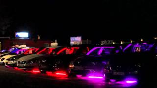 Light show demonstrating usage of Cheap-Fi controllers @ PM-CARS used cars store