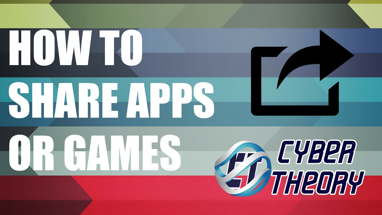 How To Share Apps Or Games With Airdrop!
