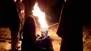 Kieferzapfen - Feuerkorb