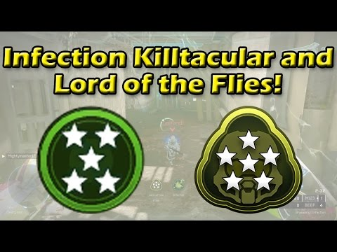 Halo 5 - Infection Killtacular and Lord of the Flies   As a Zombie!