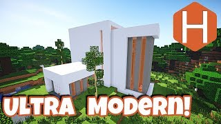 Ultra Modern House #1 Minecraft Tutorial