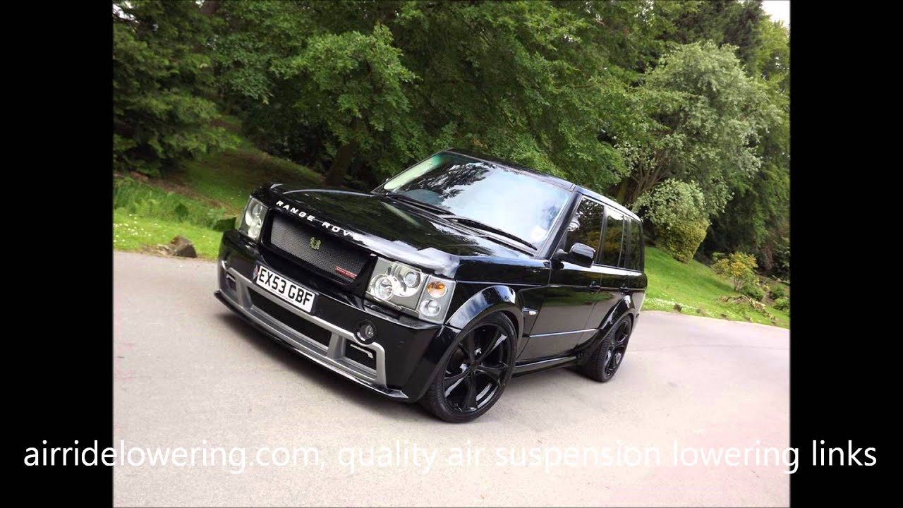 Range Rover Vogue L322 Air Suspension Lowering Links By