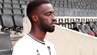 INTERVIEW: Mo Eisa on joining MK Dons