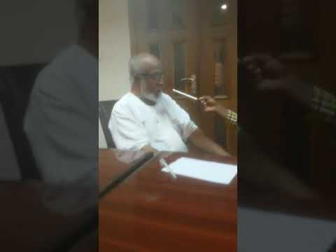 Ghana Broadcasting Corp. Interviews Dr. Maulana Maulana