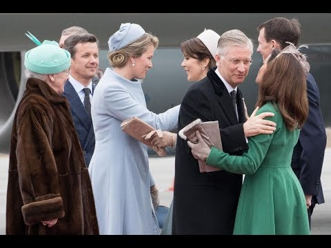 King Philip & Queen Mathilde Of The Belgians State visits Denmark