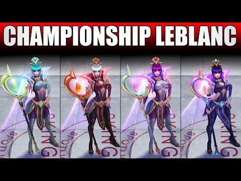 Championship LeBlanc Chroma 2020