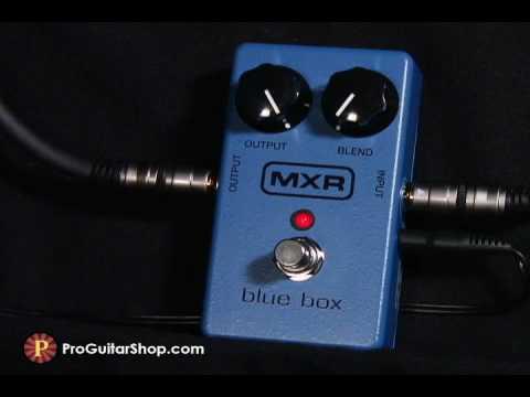 MXR Blue Box Fuzz / Octave