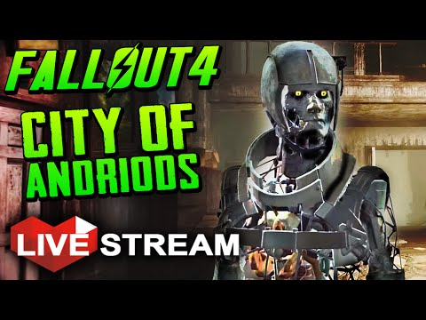 Fallout 4 Gameplay Exploration: Finding The Institute! (& Boss Combat) Live Stream