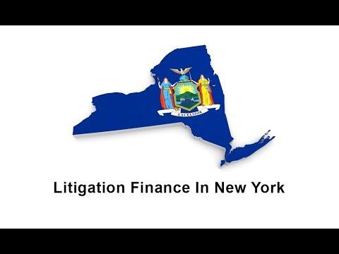Litigation Finance in New York