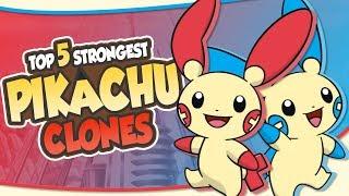 Top 5 STRONGEST Pikachu Clones