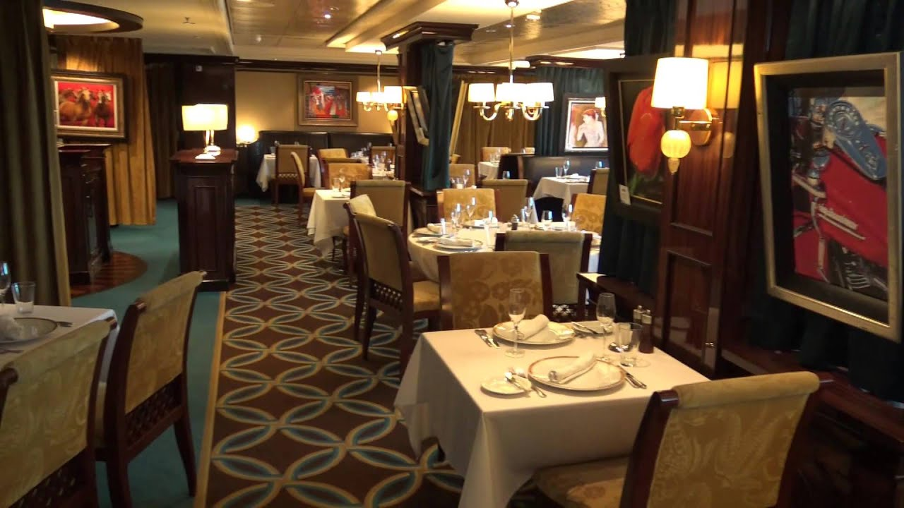 le bistro specialty dining on norwegian epic french restaurant youtube. Black Bedroom Furniture Sets. Home Design Ideas