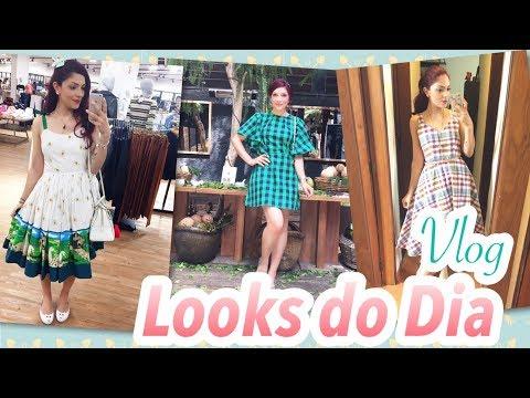 Vlog Looks Acumulados (Vestidos Midi, Look Vintage, Look Retro, Look Melissa)